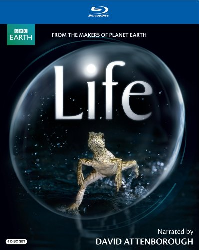 Life (narrated by David Attenborough) [Blu-ray]