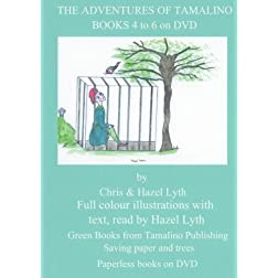 THE ADVENTURES OF TAMALINO.BOOKS 4 to 6. NTSC DVD.