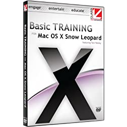 Basic Training for Mac OS X Snow Leopard: Class on Demand 2010: Apple Macintosh OSX Snow Leopard 10.6 Video Training Educational Tutorial DVD