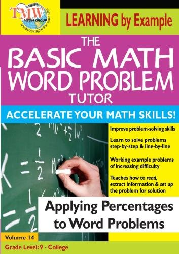 The Basic Math Word Problem Tutor: Applying Percentages to Word Problems