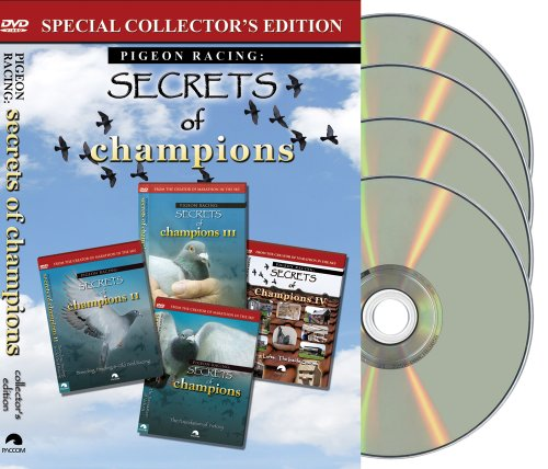 Pigeon Racing Secrets of Champions Collector's Set