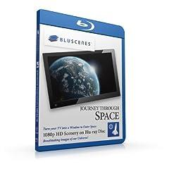 BluScenes: Journey Through Space 1080p HD Blu-ray Disc [Blu-ray]