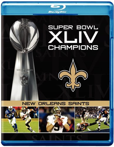 NFL Super Bowl XLIV: New Orleans Saints Champions [Blu-ray]