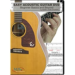 EASY ACOUSTIC GUITAR DVD: Beginner Basics and Beyond