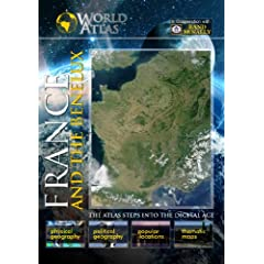 The World Atlas  France and the Benelux