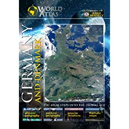 The World Atlas  Germany and Denmark