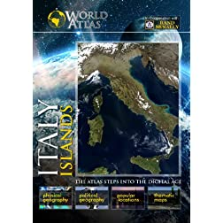 The World Atlas  ITALY: ISLANDS