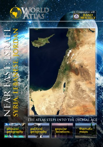 The World Atlas  NEAR EAST: ISRAEL, SYRIA, LEBANESE, JORDAN