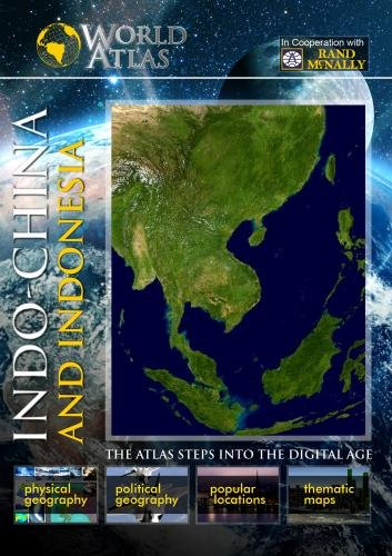 The World Atlas  INDO-CHINA AND INDONESIA