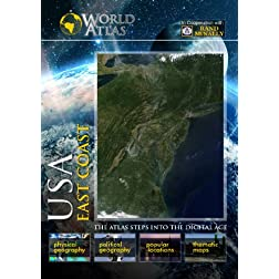The World Atlas  USA: EAST COAST