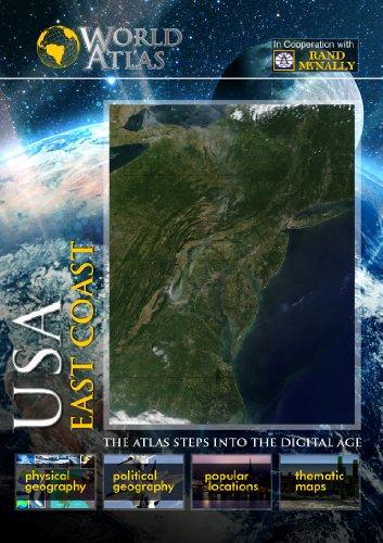 The World Atlas  USA: EAST COAST