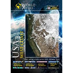 The World Atlas  USA: WEST COAST