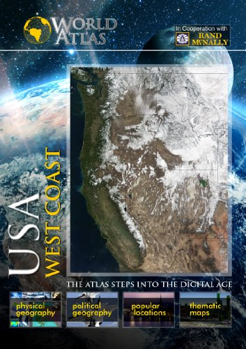 The World Atlas  USA: WEST COAST