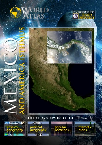 The World Atlas  MEXICO AND AMERICA ISTHMUS