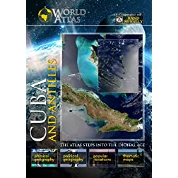The World Atlas  CUBA AND ANTILLESS