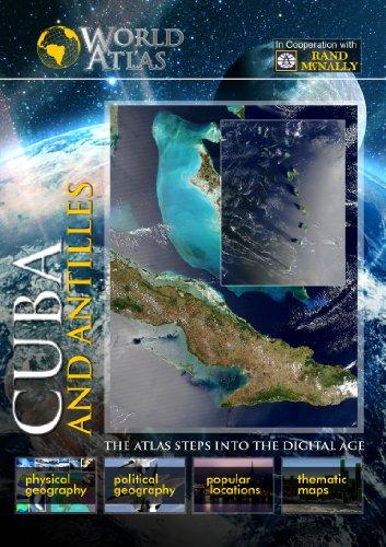 The World Atlas  CUBA AND ANTILLESS