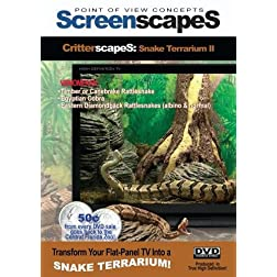 ScreenscapeS: Venomous Snake Terrarium II