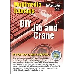 Videomaker Multimedia Tutorial - DIY Jib & Crane (DVD-ROM) [Interactive DVD]
