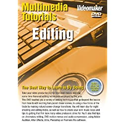 Videomaker Multimedia Tutorial - Editing (DVD-ROM) [Interactive DVD]