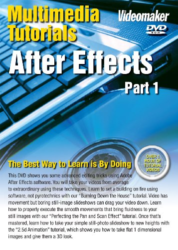 Videomaker Multimedia Tutorial - After Effects Part 1 (DVD-ROM) [Interactive DVD]