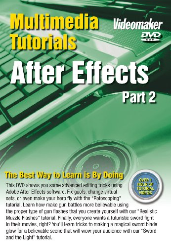Videomaker Multimedia Tutorial - After Effects Part 2 (DVD-ROM)