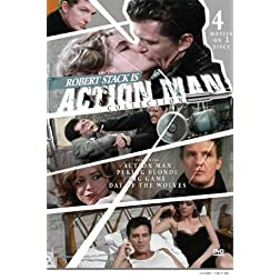 Action Man Collection: Action Man, Peking Blonde, The Big Game, The Day of the Wolves