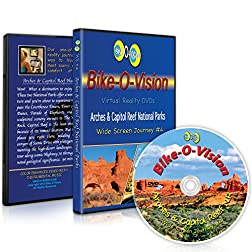 Bike-O-Vision Cycling Journey- Arches & Capitol Reef National Parks (Widescreen DVD #4)