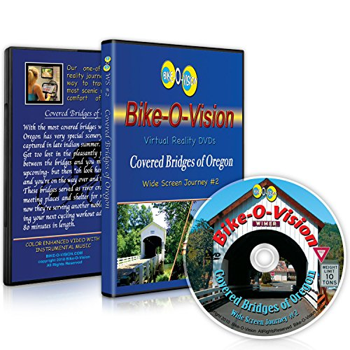 Bike-O-Vision Cycling Journey- Covered Bridges of Oregon (Widescreen DVD #2)