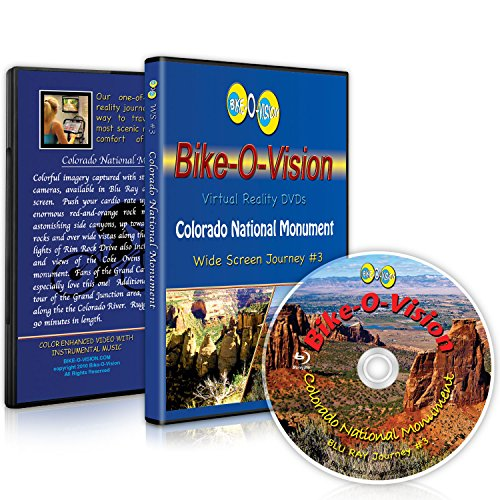 Bike-O-Vision Cycling Journey- Colorado National Monument (Widescreen DVD #3)