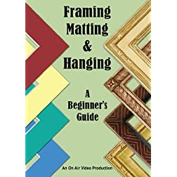 Framing, Matting & Hanging
