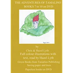 THE ADVENTURES OF TAMALINO.BOOKS 7 to 10. NTSC DVD. ALL REGIONS.