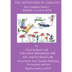 THE ADVENTURES OF TAMALINO COMPLETE SERIES 1. BOOKS 1 to 10. NTSC DVD. ALL REGIONS.