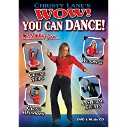Christy Lane's WOW! You Can Dance! for Special Events, Cruise Ships, Weddings & Class Reunions