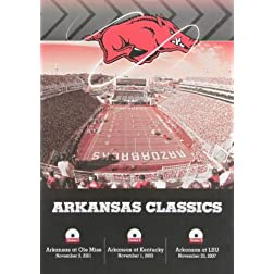 Arkansas SEC Classics 3-DVD Set