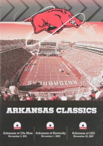 Arkansas SEC Classics 3-DVD Set