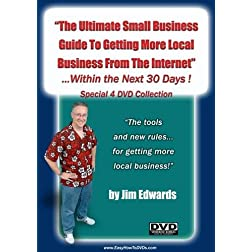 """The Ultimate Small Business Guide To Getting More Local Business From The Internet Within The Next 30 Days!"""
