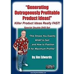 """Generating Outrageously  Profitable Killer Product Ideas Really FAST!"""