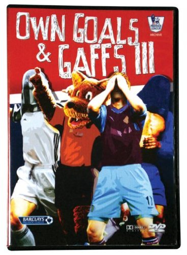 Premier League Own Goals & Gaffs III Soccer DVD