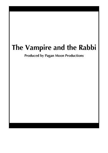 The Vampire and the Rabbi