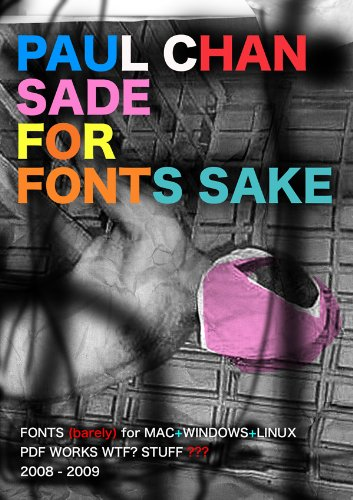 Sade for Fonts Sake (for Mac, Windows, Linux)