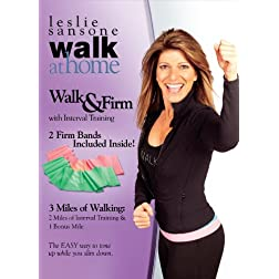 Leslie Sansone: Walk & Firm Kit with 2 Toning Bands