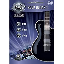 PLAY Rock Guitar 1: The Ultimate Multimedia Instructor (DVD)