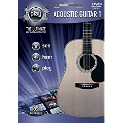PLAY Acoustic Guitar 1: The Ultimate Multimedia Instructor (DVD)