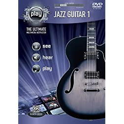 PLAY Jazz Guitar 1: The Ultimate Multimedia Instructor (DVD)