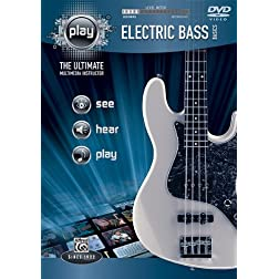 PLAY Electric Bass Basics: The Ultimate Multimedia Instructor (DVD)