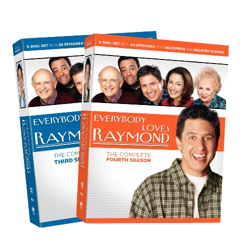 Everybody Loves Raymond: The Complete Seasons 3-4 (Side-by-Side)