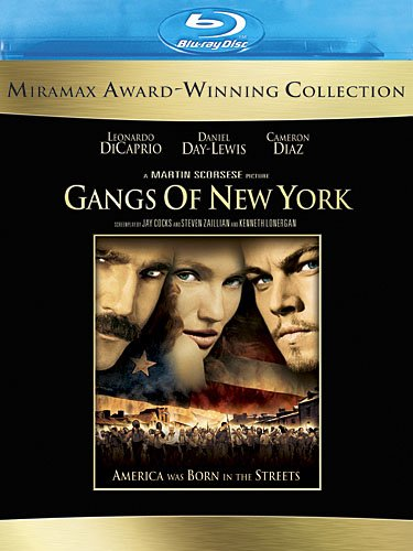 Gangs of New York (Remastered) [Blu-ray]