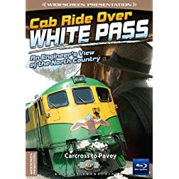 Cab Ride Over White Pass-Carcross to Pavey-Train Blu-Ray [Blu-ray]