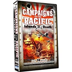 Campaigns in the Pacific - Islands of Death - Over 10 Hours - 4 DVD Box Set!