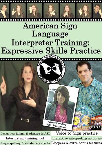 American Sign Language Interpreter Training: Expressive Skills Practice, Vol. 1